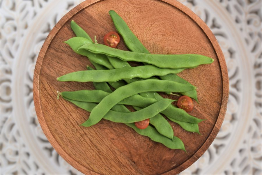 Plate of Flat Beans
