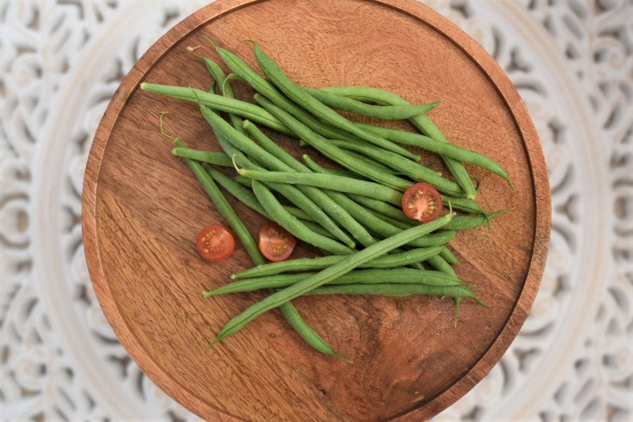 Plate of Round Beans